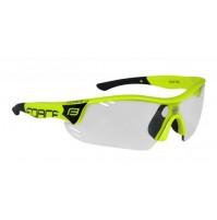 Okuliare FORCE RACE PRO fluo, fotochromatické sklá