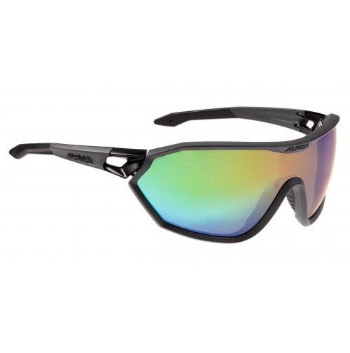 Okuliare Alpina S-WAY VLM+ čierne matné