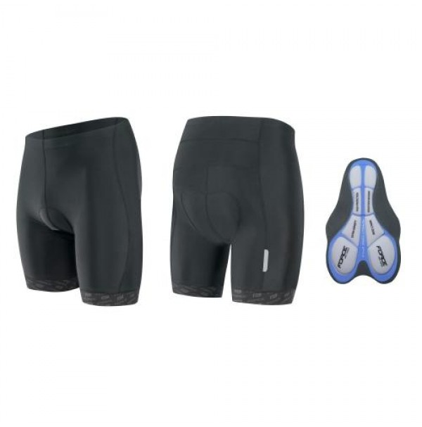 Krátke nohavice FORCE B20 krátke, s gel vložkou