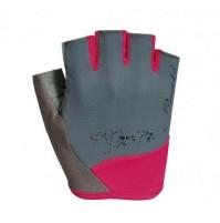 Dámske cyklistické rukavice ROECKL Dovera šedé