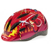 Cyklistická prilba ALPINA GAMMA 2.0 červený hasič