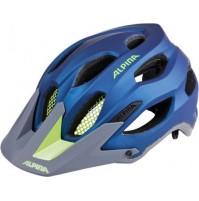 Cyklistická prilba ALPINA Carapax tmavo modrá-neónová