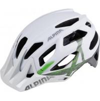 Cyklistická prilba ALPINA Garbanzo bielo-titánovo-zelená