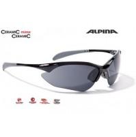 Okuliare Alpina TRI-QUATOX čierne