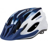 Cyklistická prilba ALPINA MTB 17 modro-biela