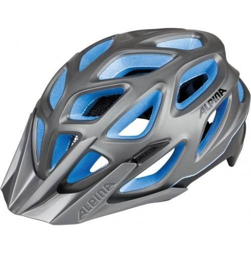 ALPINA Cyklistická prilba MYTHOS 3.0 L.E. tmavostrieborno-titánovo-modrá
