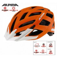 Cyklistická prilba ALPINA PANOMA CITY orange matt reflective