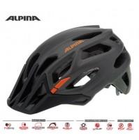 Cyklistická prilba ALPINA Garbanzo šedo-olivovo-oranžová