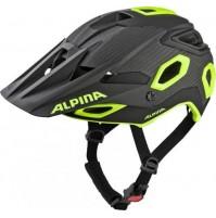 Cyklistická enduro prilba Alpina Rootage čierno-neón žltá