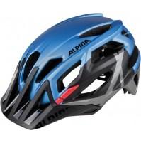 Cyklistická prilba ALPINA Garbanzo modro-čierno-červená