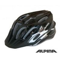 Cyklistická prilba ALPINA Tour 2.0 čierno-strieborno-biela