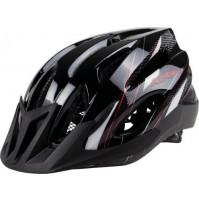 Cyklistická prilba ALPINA MTB 17 čierno-bielo-červená
