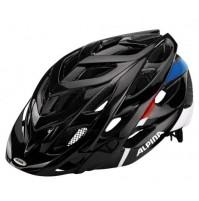 Cyklistická prilba ALPINA D-ALTO čierno-červeno-modrá