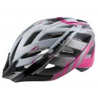 Cyklistická prilba ALPINA PANOMA 2.0 perlovobielo-purpurová