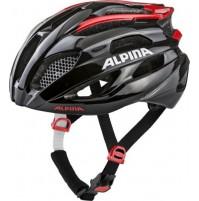 Cyklistická prilba ALPINA FEDAIA čierno-červená