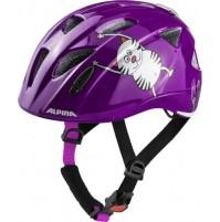 Cyklistická prilba ALPINA Ximo Flash fialová, mačka