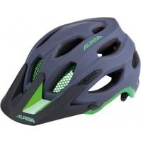 Cyklistická prilba ALPINA Carapax šedo-zelená