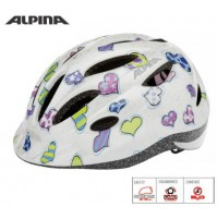 Cyklistická prilba ALPINA GAMMA 2.0 srdcia