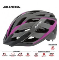 Cyklistická prilba ALPINA PANOMA 2.0 L.E titánovo-ružová