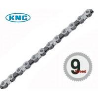 Reťaz KMC X 9 strieborno-sivá, v krabičke