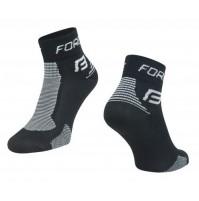 Ponožky FORCE 1 čierno-šedé