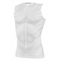 Tričko funkčné F TOPIC, bez rukávou biele
