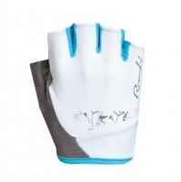 Dámske cyklistické rukavice ROECKL Dovera biele