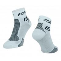 Ponožky FORCE 1 bielo-čierne