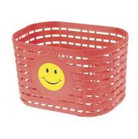 Košík na riadítka detský plastový
