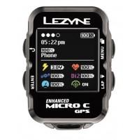 Cyklocomputer LEZYNE Micro COLOR GPS HR - s hrudným pásom