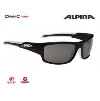 Cyklistické okuliare Alpina TESTIDO čierna matná-biela