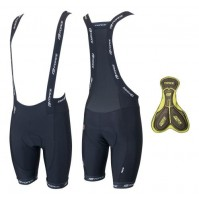 Krátke nohavice FORCE B45 krátke, s trakmi a vložkou