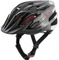 Cyklistická prilba ALPINA FB JUNIOR 2.0 čierno-bielo-červená