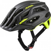 Cyklistická prilba ALPINA Garbanzo čierna-neonovo žltá
