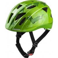 Cyklistická prilba ALPINA Ximo Flash zelený dino
