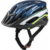 Cyklistická prilba ALPINA MTB 17 tmavo modro-neonová