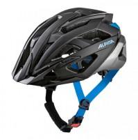 Cyklistická prilba ALPINA Valparola čierno-strieborno-modrá