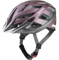 Cyklistická prilba ALPINA PANOMA 2.0 CITY ružovo-tmavostrieborná