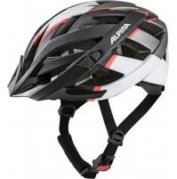 Cyklistická prilba ALPINA PANOMA 2.0 L.E. čierno-bielo-neon červená