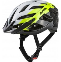 Cyklistická prilba ALPINA PANOMA 2.0 bielo-neon-čierna