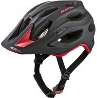 Cyklistická prilba ALPINA Carapax 2.0 čierno-červená