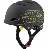Cyklistická prilba Alpina PARK jr. Star Wars čierna