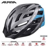 Cyklistická prilba ALPINA PANOMA L.E  tmavostrieborno-čierna matná