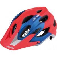 Cyklistická prilba ALPINA Carapax červeno-modrá