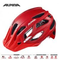 Cyklistická prilba ALPINA Garbanzo červená