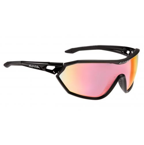 Okuliare Alpina S-WAY QVM+ čierne matné