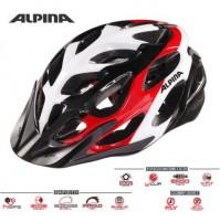 Cyklistická prilba ALPINA MYTHOS 2.0 čierno-bielo-červená