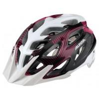 Cyklistická prilba ALPINA MYTHOS 3.0 bielo-fialovo-titánová