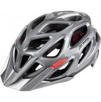 Cyklistická prilba ALPINA MYTHOS 3.0 tmavá sivo-čierno-červená