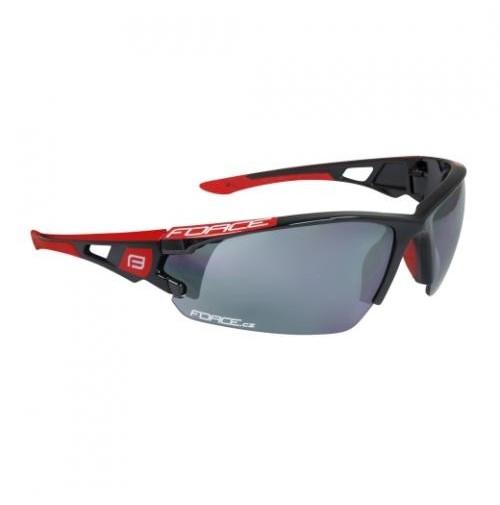 Okuliare FORCE CALIBRE, čierne laser sklá
